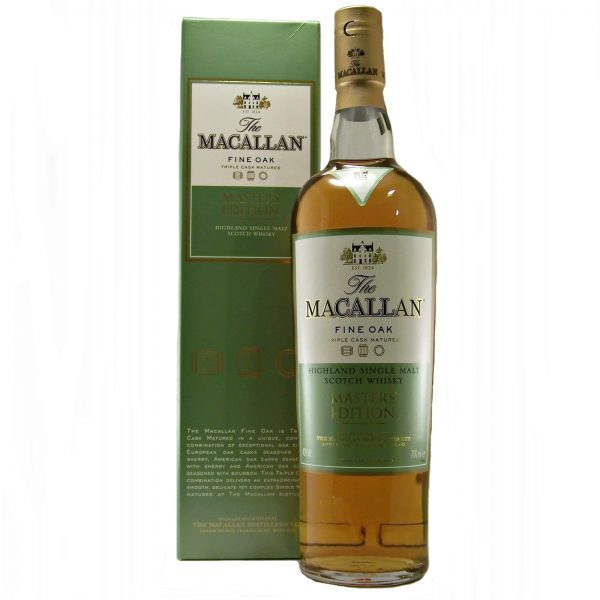Macallan 10 year old Fine Oak Masters Edition