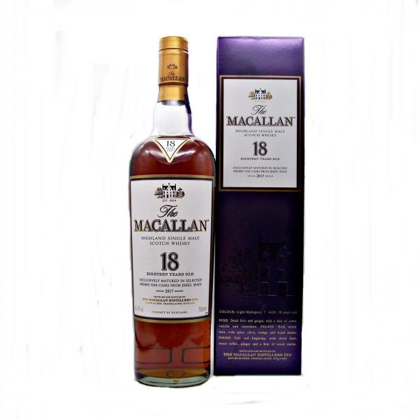 Macallan 18 year old 2017 Annual Release