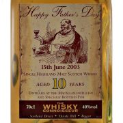 Macallan 10 year old Happy Father's Day June 2003