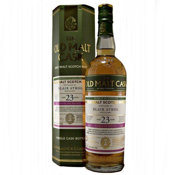 Blair Athol Single Malt Whisky 23 year old