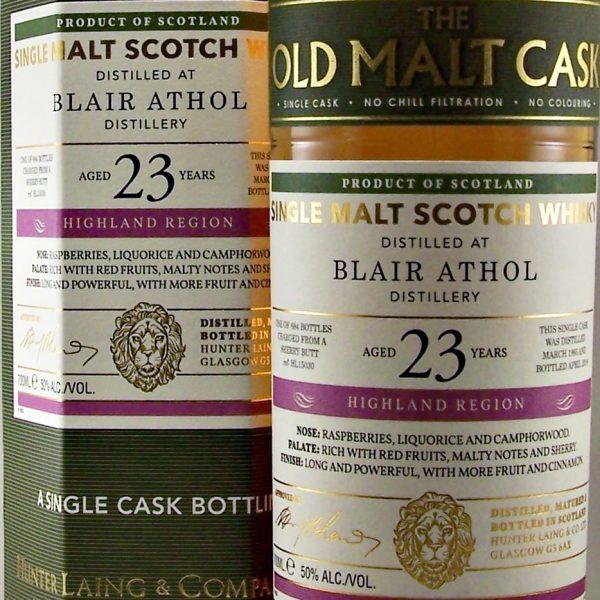 Blair Athol Old Malt Cask 23 year old
