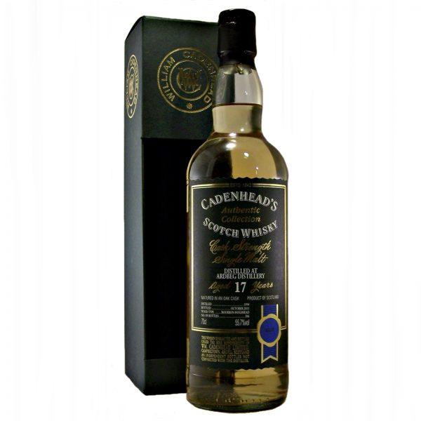 Ardbeg 17 year old Cask Strength Whisky
