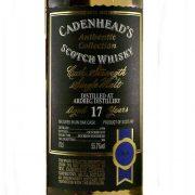 Ardbeg 17 year old Cask Strength Whisky William Cadenhead