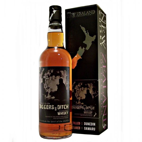 Diggers and Ditch New Zealand Double Malt Whisky