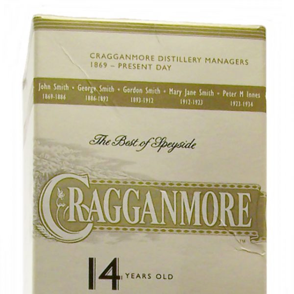 Cragganmore 14 year old Friends of Classic Malts