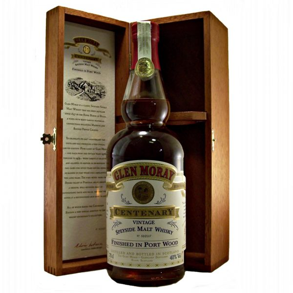 Glen Moray Centenary Vintage Finished in Port Wood Limited Edition