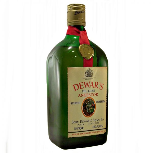 Dewar's Ancestor Scotch Whisky 1960's