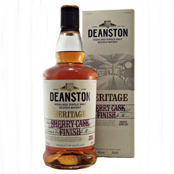 Deanston Heritage Sherry Cask Finish