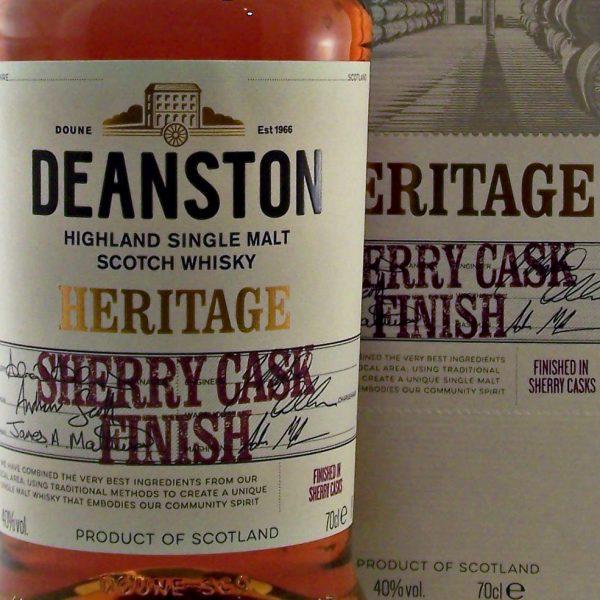Deanston Heritage Sherry Cask Finish Single Malt Whisky