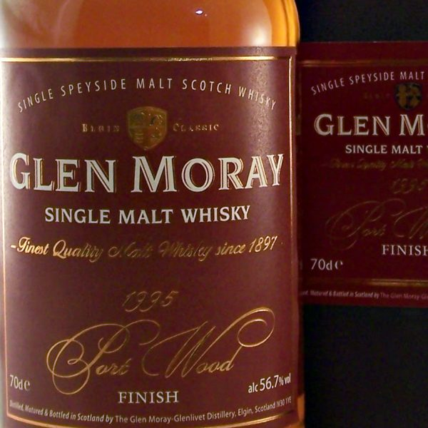 Glen Moray 1995 Port Wood Finish Single Malt Whisky