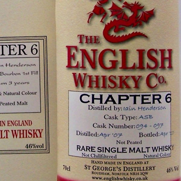 English Whisky Chapter 6 Single Malt Whisky cask 094