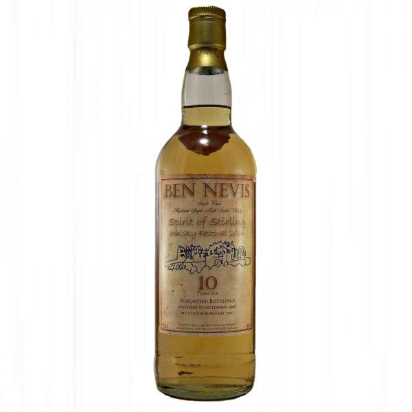 Ben Nevis 10 year old Spirit of Stirling Whisky Festival