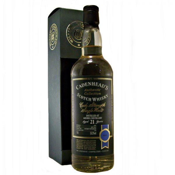 Ardbeg 21 year old Cask Strength Whisky