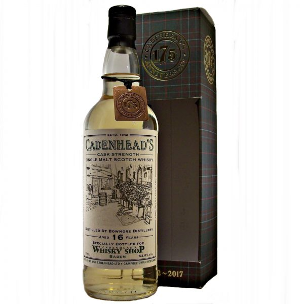 Bowmore 15 year old Cadenhead's 175th Anniversary