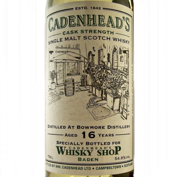 Bowmore 15 year old Cadenhead's 175th Anniversary Baden