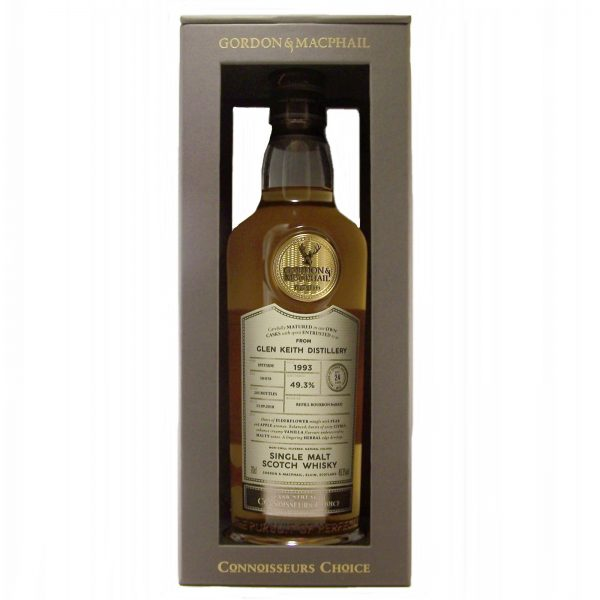 Glen Keith 1993 Cask Strength 24 year old Connoisseurs Choice