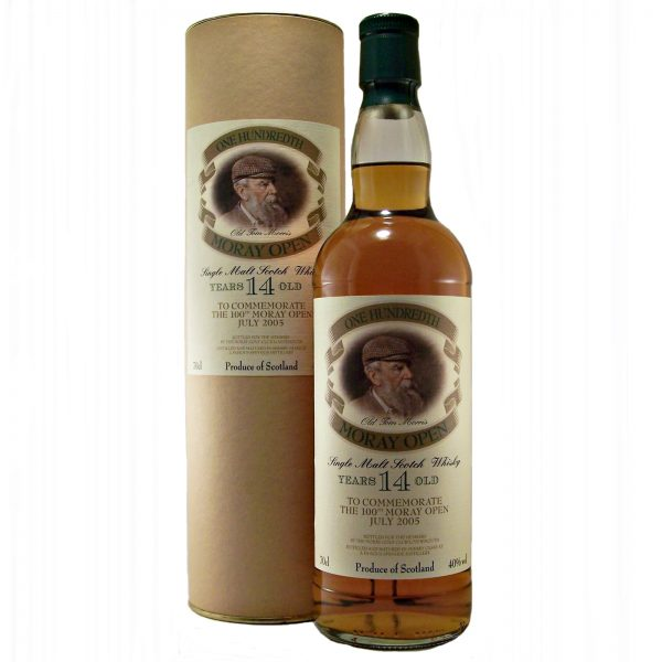 Macallan 14 year old To Commemorate The 100th Moray Open July 2005