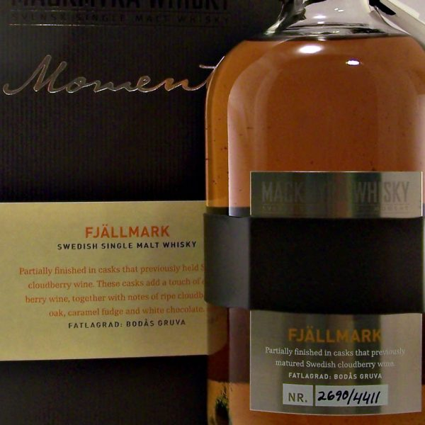 Mackmyra Fjallmark Swedish Single Malt Whisky