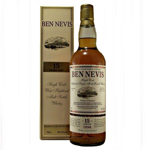 Ben Nevis 15 year old 1996 Single Sherry Cask
