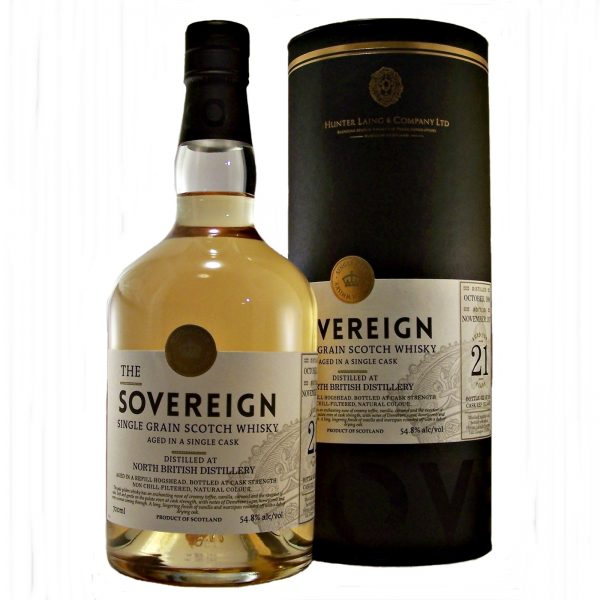 North British 21 year old Single Grain Whisky