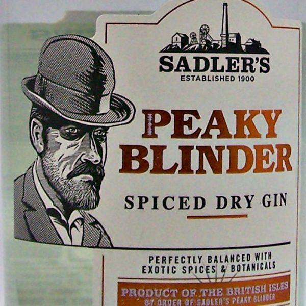 Sadler's Peaky Blinder Spiced Dry Gin
