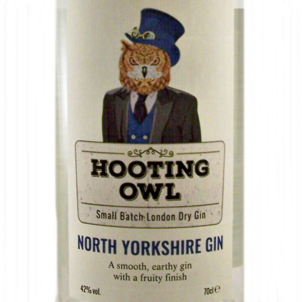 Hooting Owl fruity North Yorkshire Gin