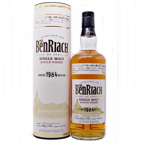BenRiach 1984 Single Malt Whisky