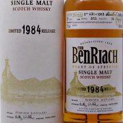 BenRiach 1984 Single Cask Malt Whisky