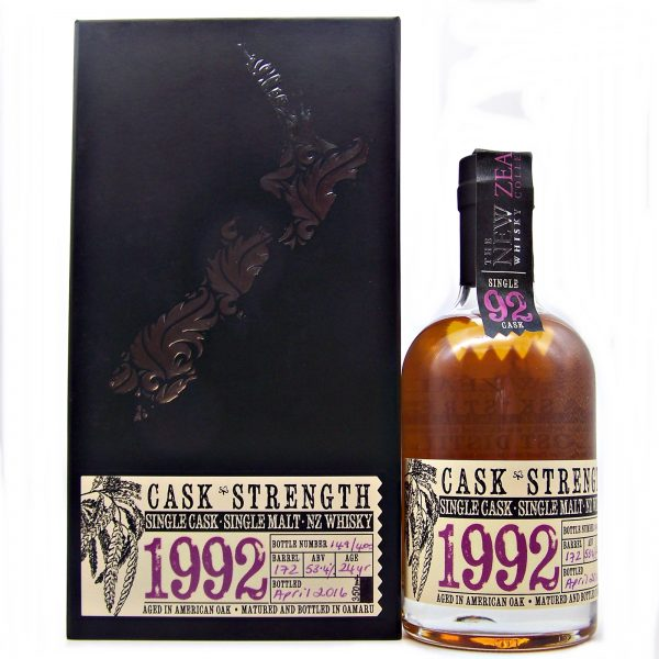 Dunedin 1992 Single Cask New Zealand Whisky