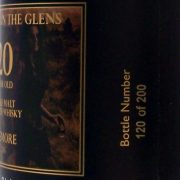 """Thunder in The Glens"" 20 year old Beinn Dubh Black Single Malt Whisky"