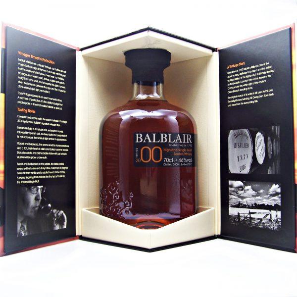 Balblair 2000 Vintage Single Malt Whisky