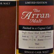 Arran Cognac Cask Limited Edition
