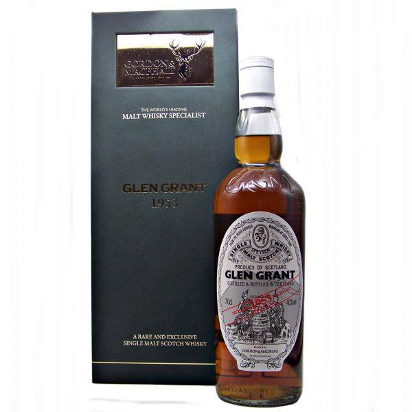 Glen Grant 1953 Single Malt Whisky 60 year old Whisky