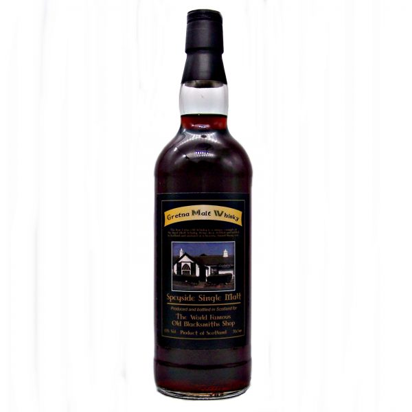 Gretna Black Single Malt Whisky