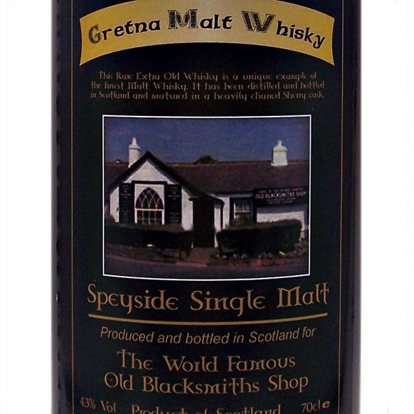 Gretna Black Speyside Single Malt Whisky