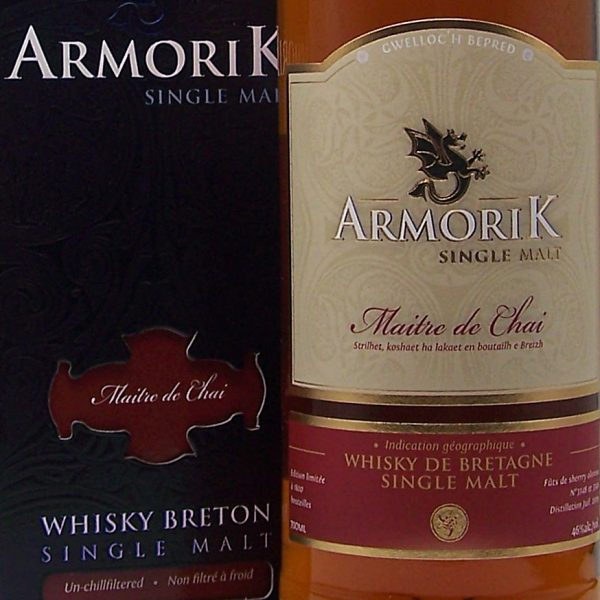 Armorik Maitre de Chai French Single Malt Whisky