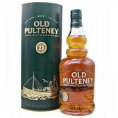 Old Pulteney 21 year old Single Malt Whisky at whiskys.co.uk
