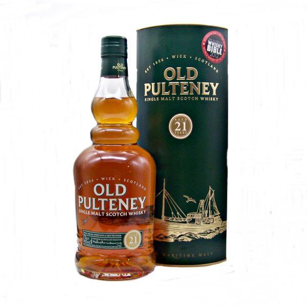 Old Pulteney 21 year old Single Malt Whisky
