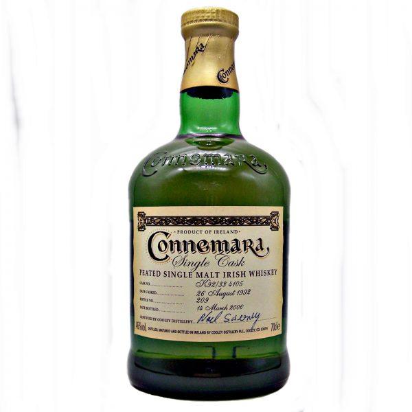 Connemara 1992  Single Cask Irish Whiskey