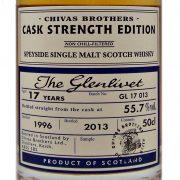 Glenlivet 17 year old Cask Strength Single Malt Whisky