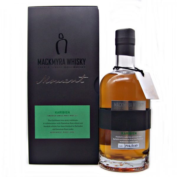 Mackmyra Karibien Swedish Whisky