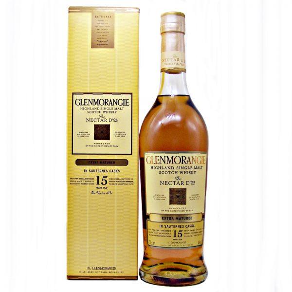 Glenmorangie 15 year old Nectar D'or Single Malt Whisky