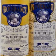 Port Ellen 25 year old Provenance 1983 single malt whisky