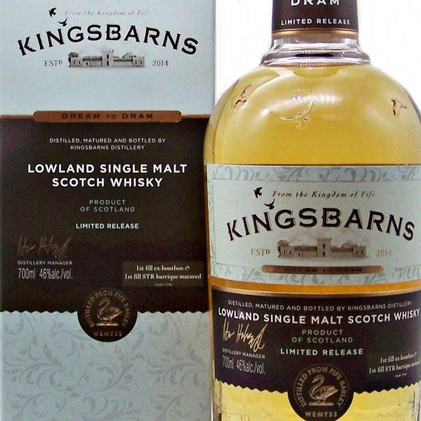Kingsbarns Dream to Dram Lowland Single Malt
