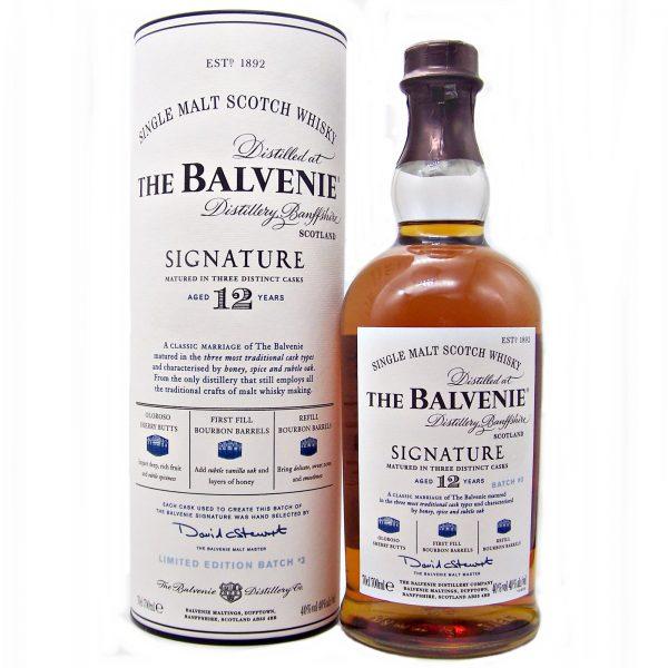 Balvenie 12 year old Signature Batch 3