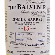 Balvenie 15 year old Single Cask