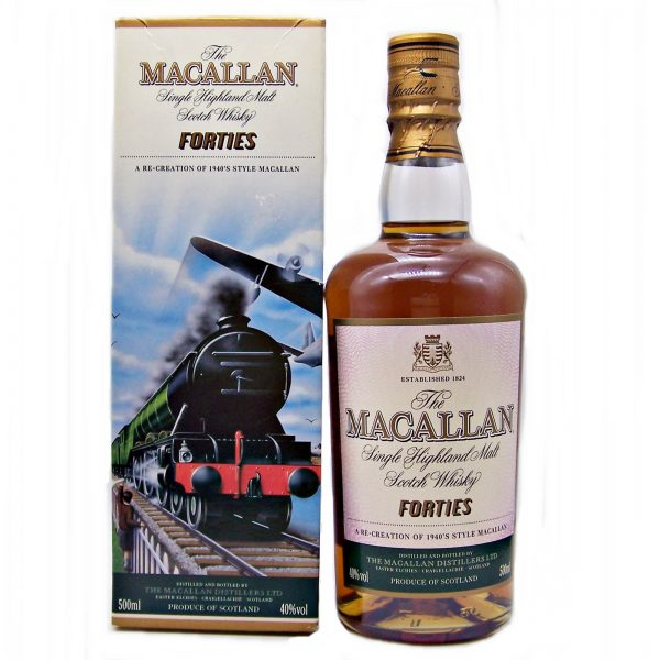 Macallan Forties Decades Travel Series