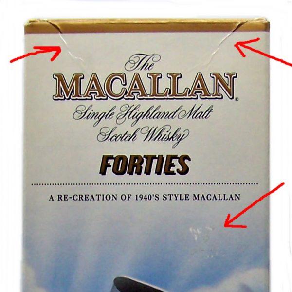 Macallan Forties Decades Travel Series Single Malt