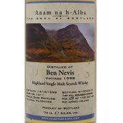 Ben Nevis 1998 Cask Strength Whisky