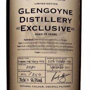 Glengoyne Distillery Exclusive Single Cask Strength Whisky